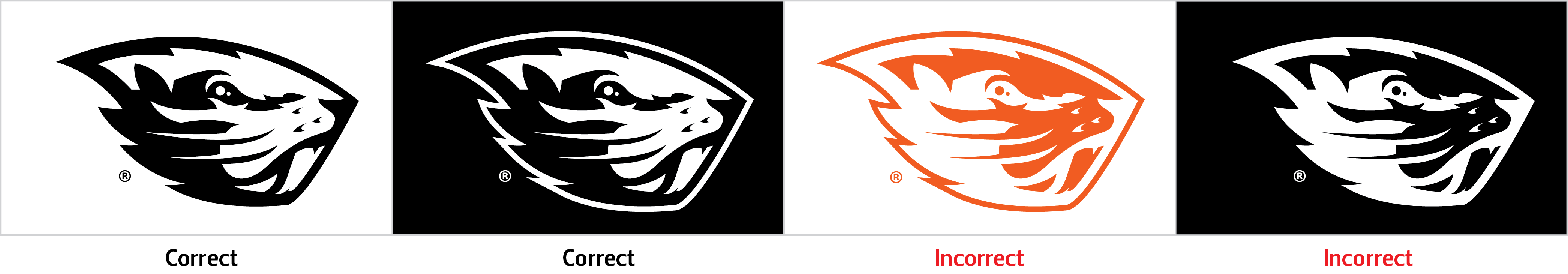 Beaver Logo University Relations And Marketing Oregon State