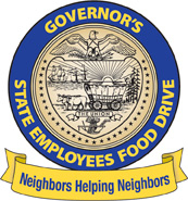 governors food drive seal