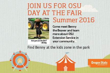 OSU Day at the Fair Flier