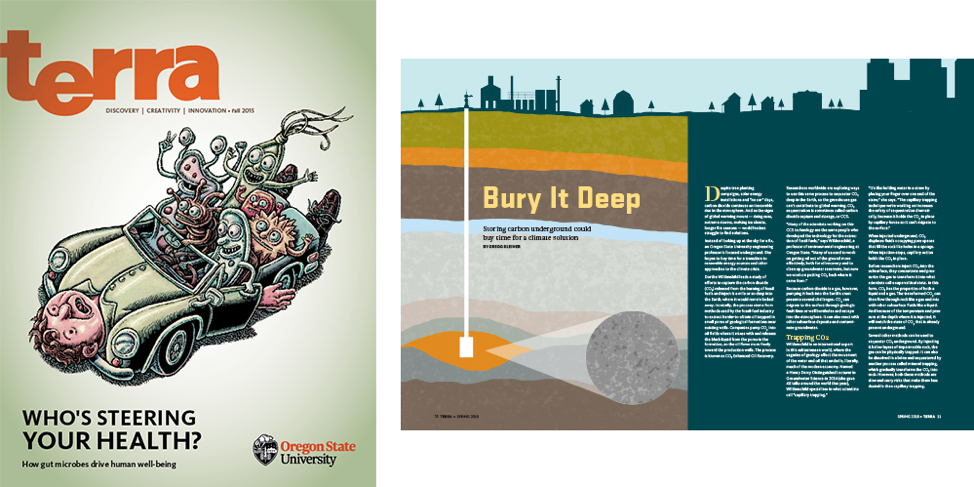 Terra magazine illustration examples