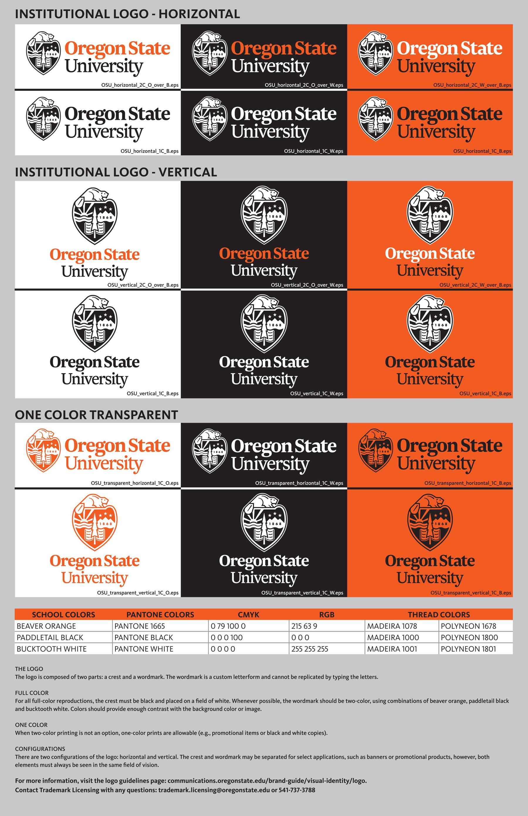 Institutional Logo Art Sheet