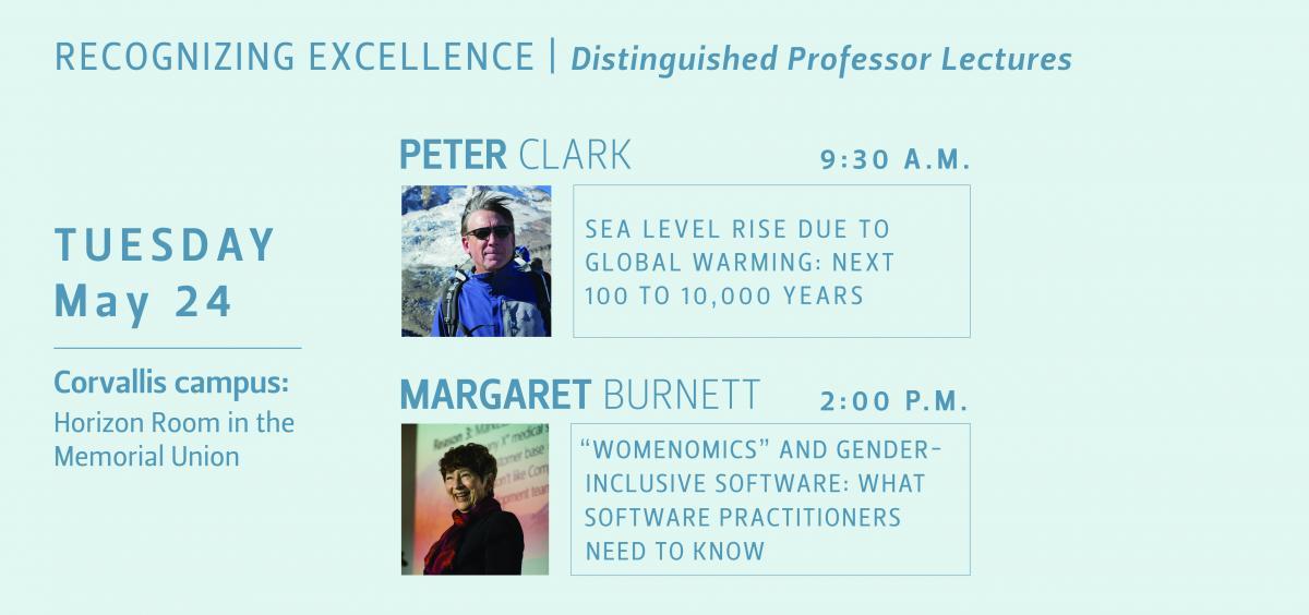 Distinguished Professor Lectures