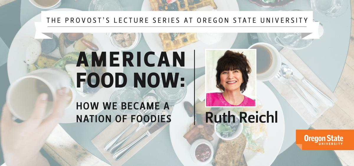 Provost's Lecture Series with Ruth Reichl