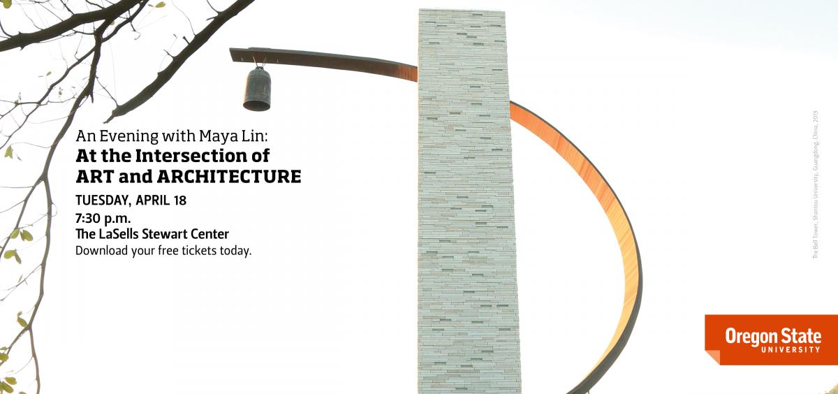 The Provost's Lecture Series with Maya Lin